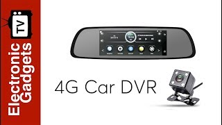Best 4G Car DVR - Android OS, 1080p Camera, Rear-View Parking Camera, 7-Inch Display