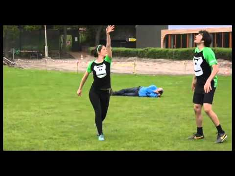 Freestyle Frisbee: German Open 2015, MixedPairs - Sophie Wol