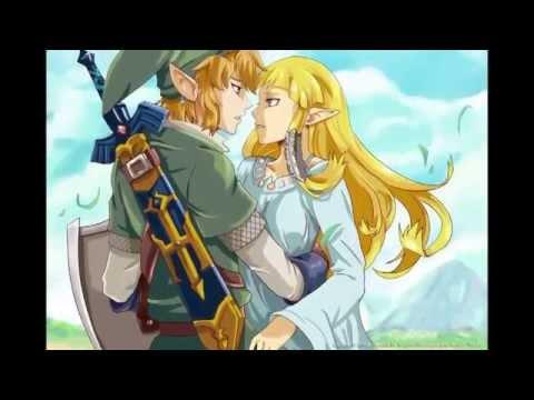 Link X Zelda I Love You Fanart