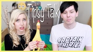 One of ChewingSand's most viewed videos: Tipsy Talk with AmazingPhil