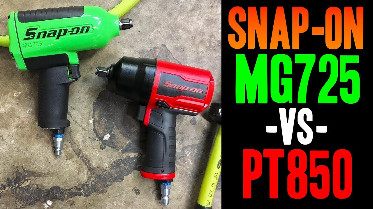Snap On Vs Mg725 Pt850 1 2 Impact Wrenches Made In Usa