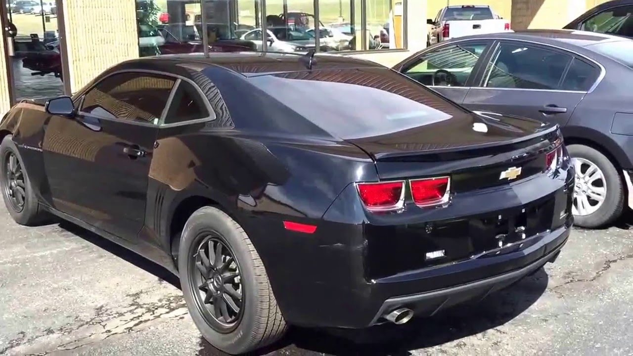 Stoystown Auto Sales >> 2012 Chevrolet Camaro LS black near Pittsburgh salvage ...