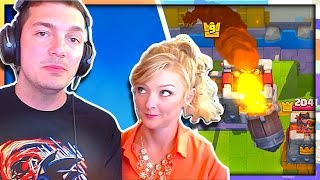 2v2 with KELLY... GONE WRONG! - Clash Royale
