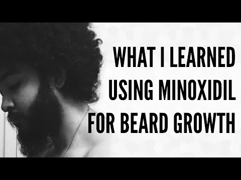 4 Things I Learned From Applying Minoxidil to Grow a Beard