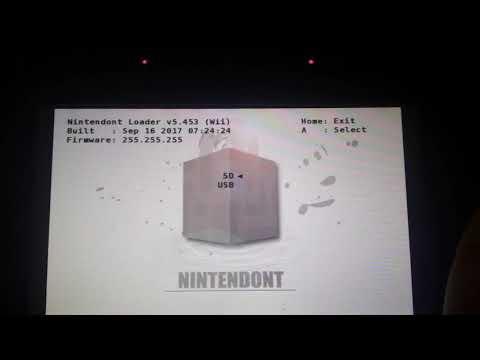 Nintendont on WiiU Gamepad.. WITH GAMEPAD CONTROLS!!