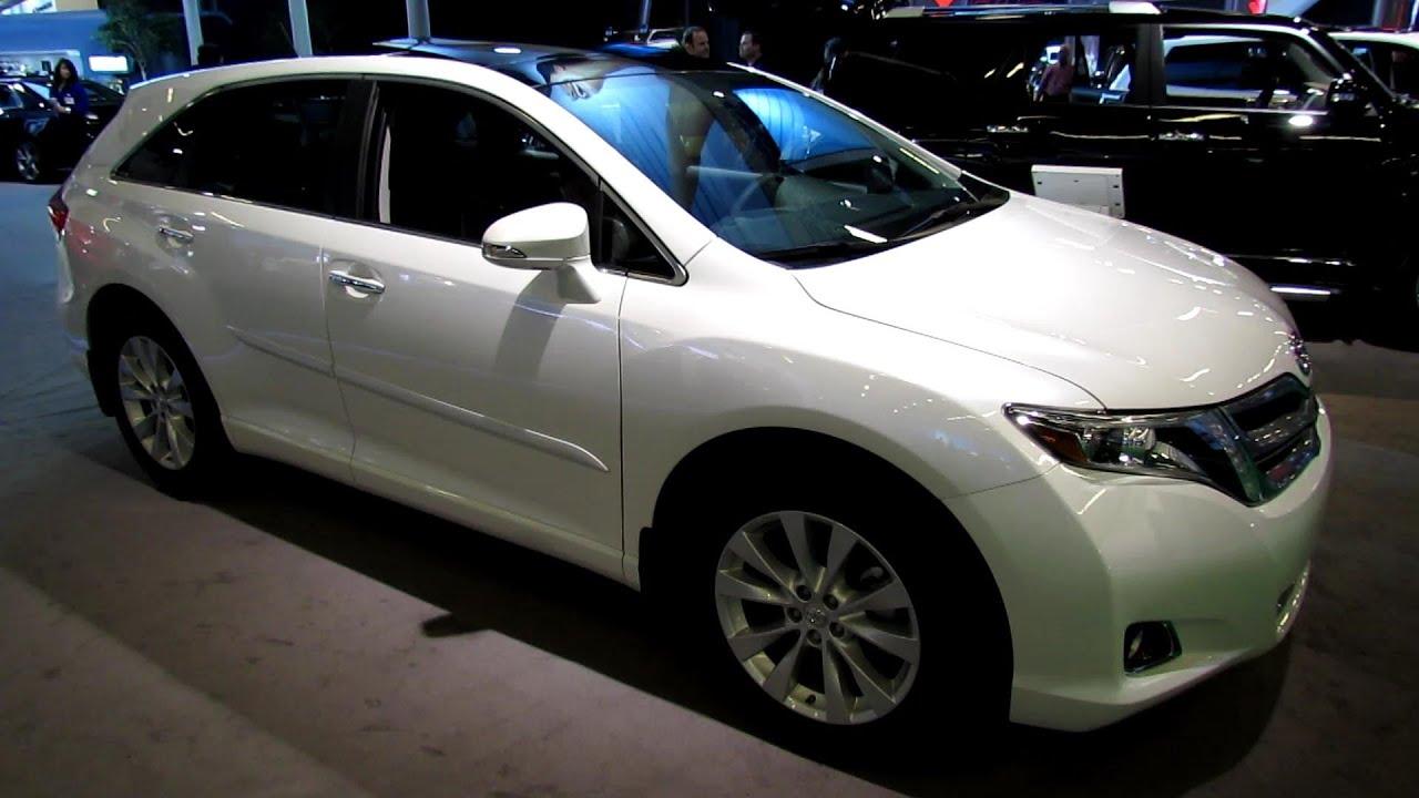 2013 Toyota Venza Touring Awd Exterior And Interior Walkaround 2013 Montreal Auto Show