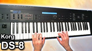 KORG DS-8 - Ambient chillout music【SYNTH DEMO】