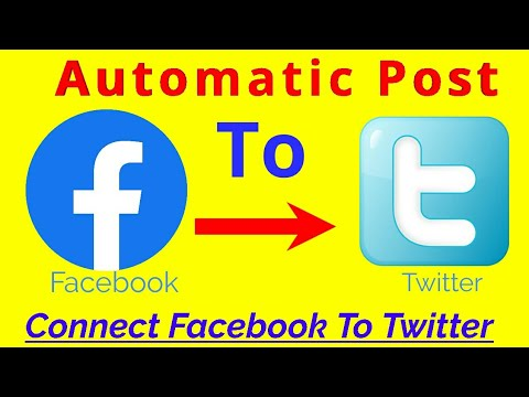 Download Facebook Ko Twitter Se Kaise Jode | How To Connect Facebook To Twitter | Auto Post Fb To Twitter