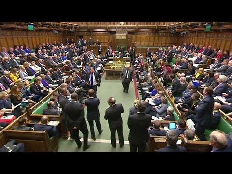 Brexit : les députés britanniques votent le calendrier de Theresa May