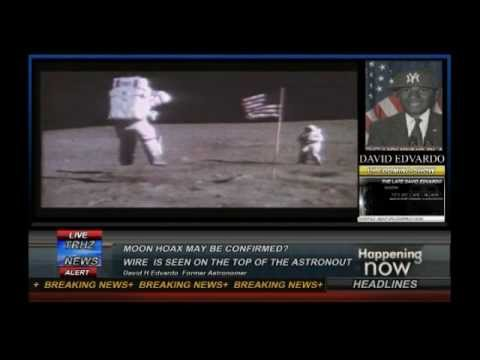 UFO 2012  FOX NEWS Unknown  Scary Wire Moon Astronout  REAL EVEDENCE OF FAKING MOON LANDING