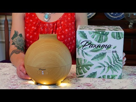 🌺PAXAMO OIL DIFFUSER 600 ML ULTRASONIC 🍀GLOBE ESSENTIAL OIL AROMATHERAPY PRODUCT REVIEW 👈