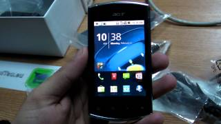 Acer Liquid Mini E310  review HD ( in ROmana) - www.TelefonulTau.eu -