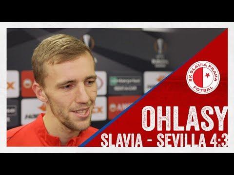 OHLASY | Slavia - Sevilla 4:3