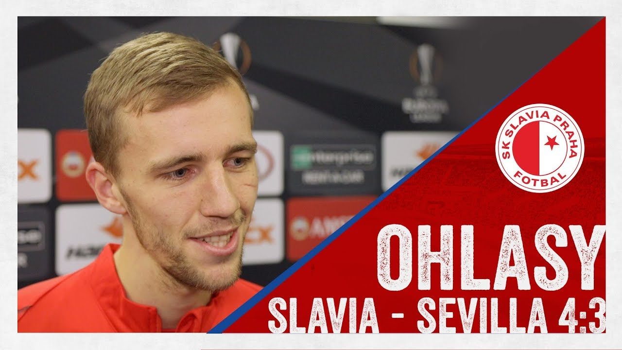 Slavia – Sevilla Image: Slavia - Sevilla 4:3 - YouTube