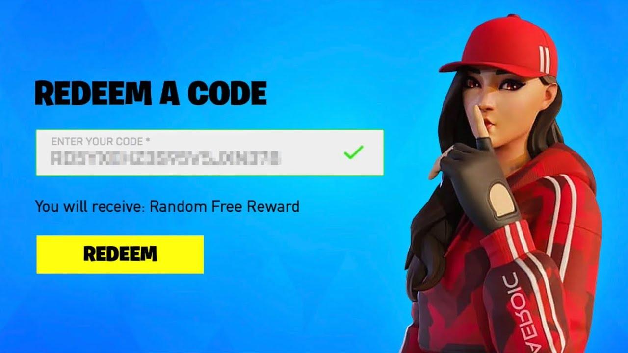 Fortnite randoms codes for minty pickaxe - YouTube