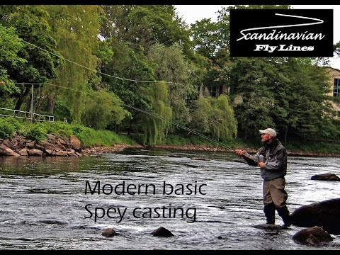Modern basic spey casting - Double handed fly rods and shooting heads