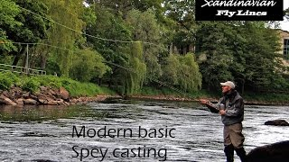 modern basic spey casting double handed fly rods and shooting heads
