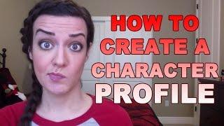 So Erstellen Sie eine Charakter-Profil