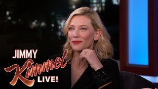 Cate Blanchett Says It's Fun to Be Wicked