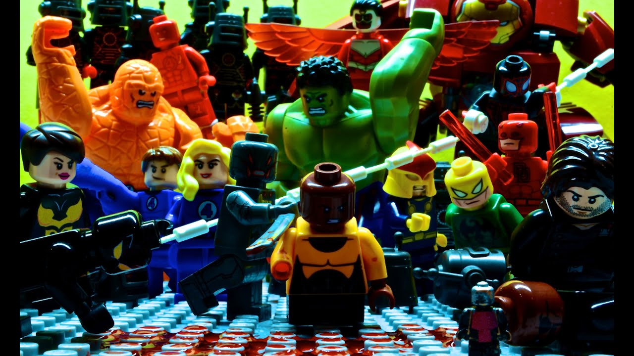 Lego Avengers And Fantastic 4 Brink Of Death Youtube
