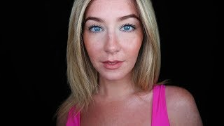 ASMR Eye Contact Help & Relaxing Tapping