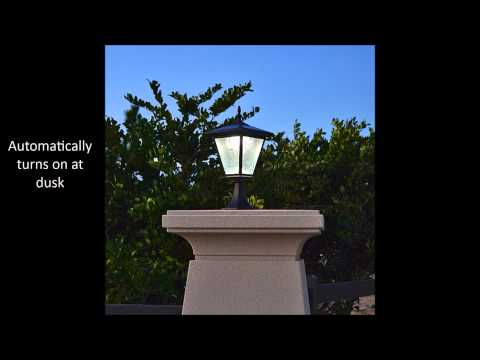 Brick Column Pillar Solar Light by Free-Light