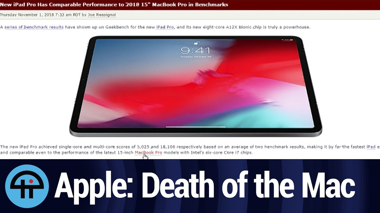 Apple's Big October Event: the Death of the Mac