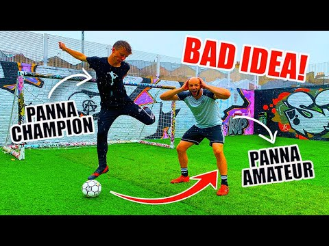 I Challenged The UK CHAMPION To A PANNA Match...