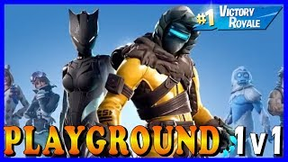 "FORTNITE PLAYGROUND 1v1 assinantes-""TENDER DEFENDER"" pele está de volta no FORTNITE!!!"