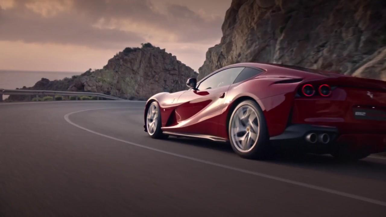 Black Car Wallpaper 1080p Ferrari 812 Superfast Video Debut Full Hd 1920x1080 Youtube