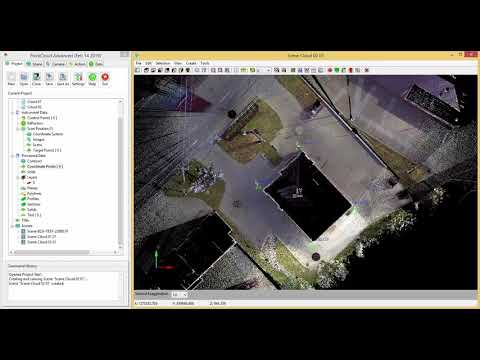 2) Carlson Point Cloud - Register Command