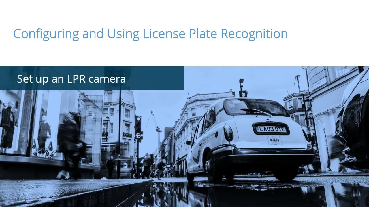 XProtect LPR: Set up an LPR camera in the Management Client