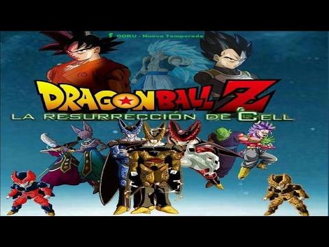 Dragon Ball Z La Resureccion de Cell Pelicula Completa REMAKE (Fan Made) JuegaAlexander