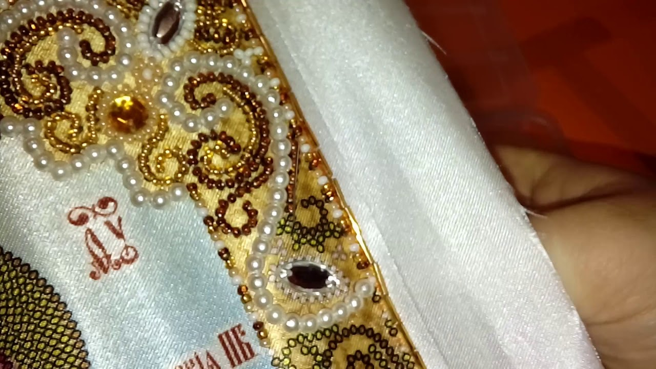 Мастер класс по вышивке бисером. Техника