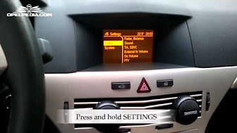 how to open holden astra 2005 equipe trunk