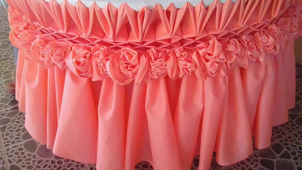 wedding gab#7 skirting design