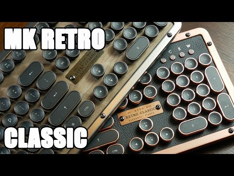 Azio MK Retro Classic Review: The Most Beautiful Mechanical Keyboard?