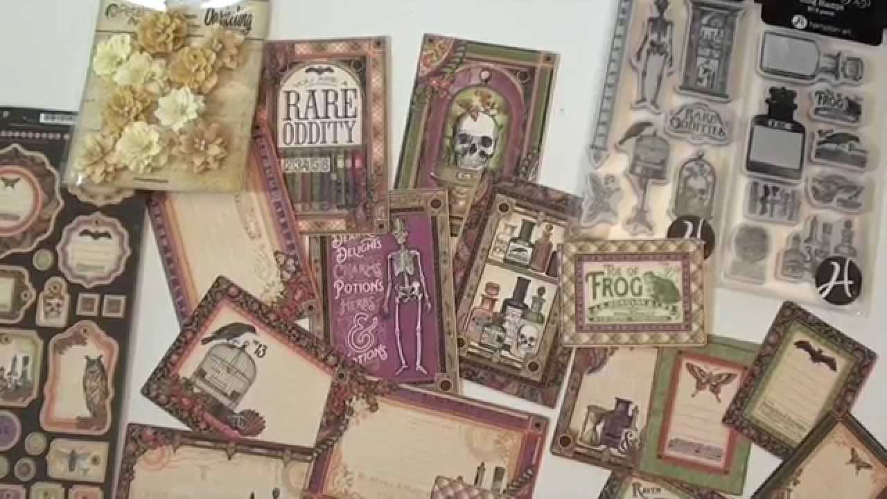 New Graphic45 Rare Oddities collection - YouTube