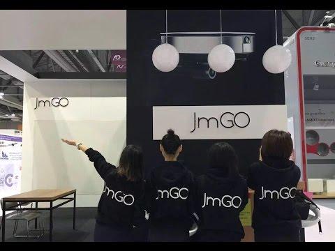 JmGO booth Tour at HK Fair, JmGO P2 TI DLP Projector start shipping