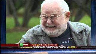 Tomie dePaola Interview, WCAX 10-26-11