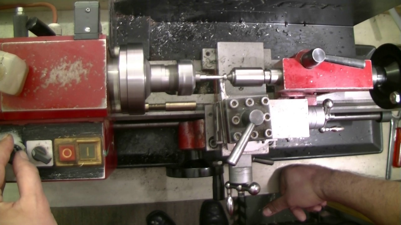 making a special 3 5 mm bolt on a mini lathe youtube Anatomy of a Lathe making a special 3 5 mm bolt on a mini lathe