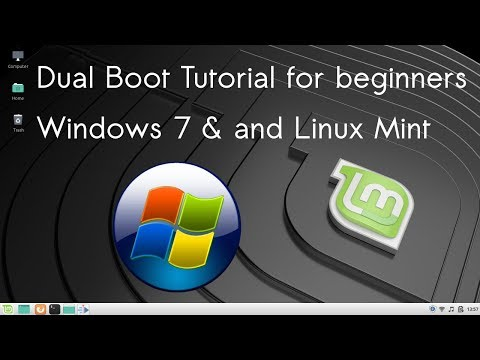 Dual Boot How To Install Linux Mint Alongside Windows 7 - Replace Ubuntu With Linux Mint