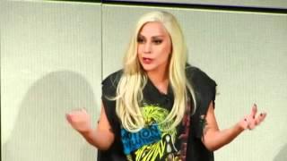 Lady GaGa Speaks TRUTH at Emotion Revolution Summit 2015 (Remastered Audio Full)