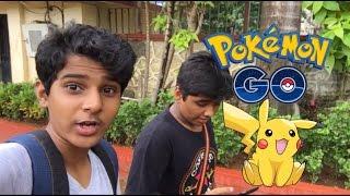 Pokemon in real life !! (Pokemon Go in India)