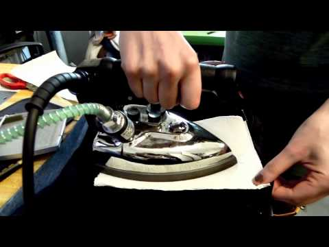 how to get candle wax off jeans