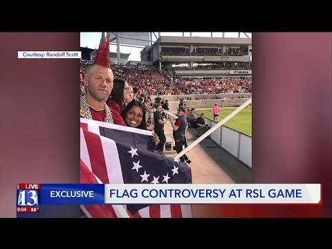 Flag Controversy At RSL Game