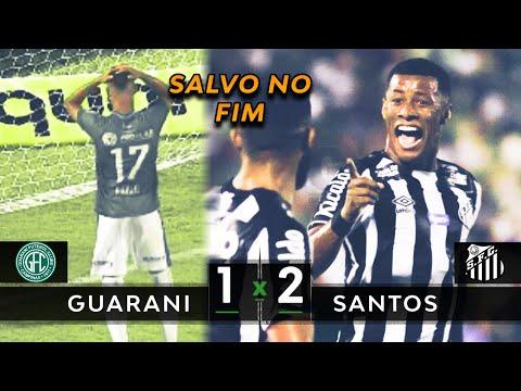 GOL CONTRA NO FINAL | Guarani 1 x 2 Santos - Melhores Momentos (HD) - Paulista 2020