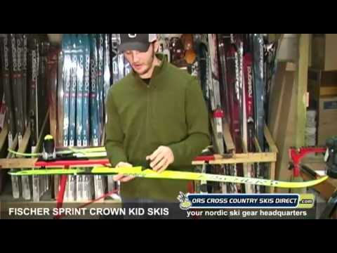 Fischer Sprint Crown Kids Nordic Skis Review Video By ORS Cross Country Skis Direct