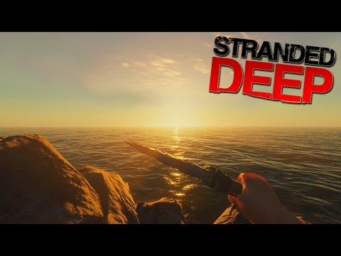 STRANDED ON AN AMAZINGLY BEAUTIFUL ISLAND!!! | Stranded Deep #1 |