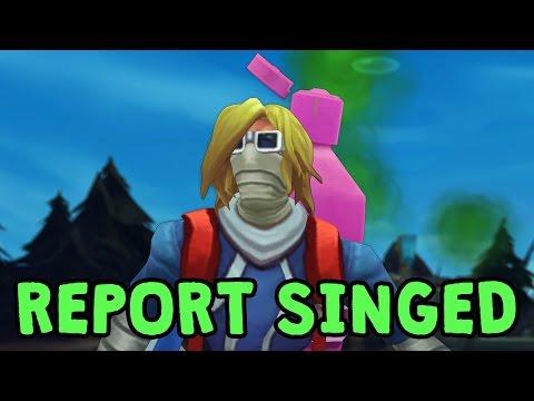 Report Singed